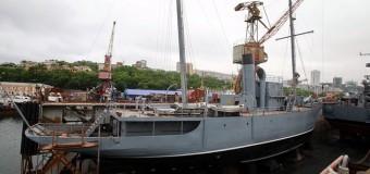 Спущена на воду паровая яхта «Красный вымпел»