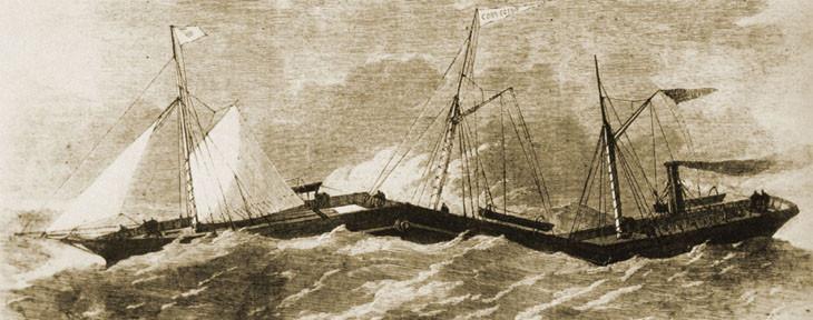 шарнирно-сочленённый пароход Коннектор