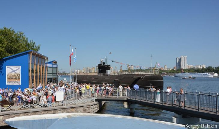 Празднование дня ВМФ в парке «Северное Тушино»