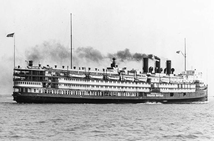 Второй мичиганский исполин – пароход «Грейтер Баффало»