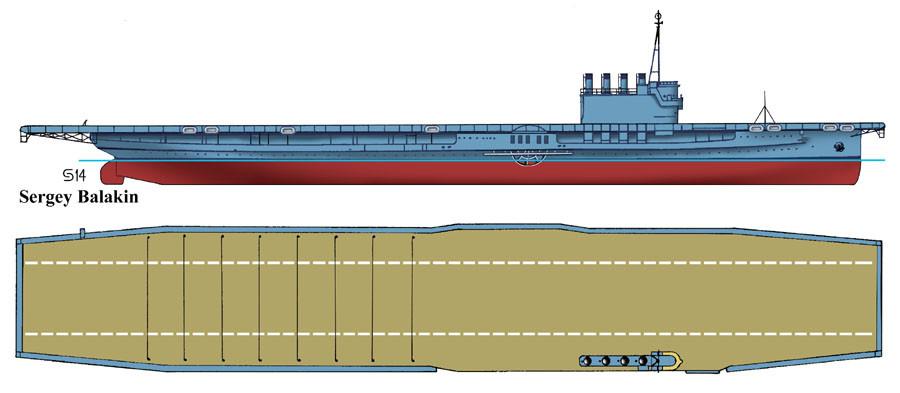 """Авианосец IX-64 """"Вулверин"""", 1942 г."""