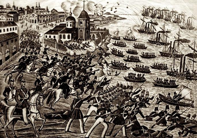 Русская гравюра периода Крымской войны