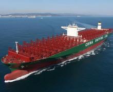 Самый большой контейнеровоз в мире «CSCL Globe»