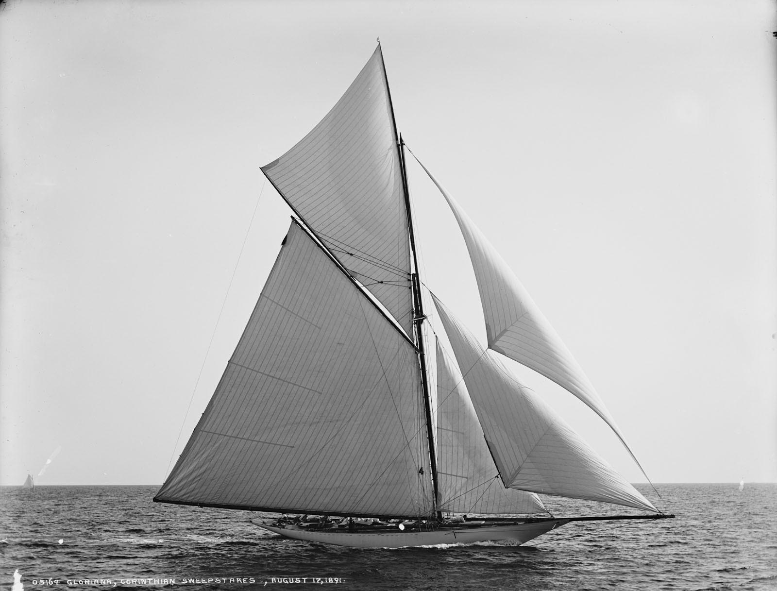 Яхта-шлюп «Gloriana»