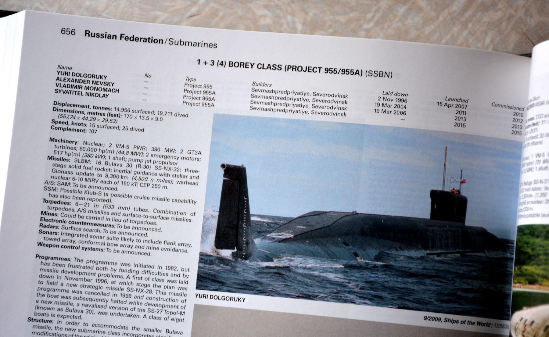РПКСН «Борей» или проект 955