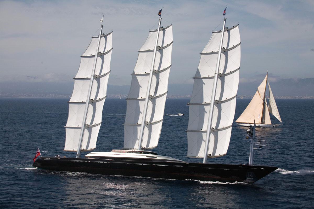 парусная мегаяхта «Maltese Falcon»