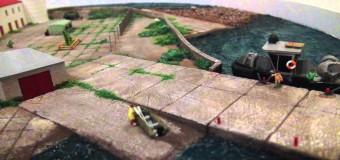 Модель маяка «Толбухин»