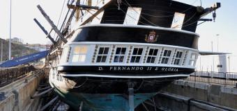 Португальский корабль-музей — фрегат «Дон Фернанду»