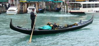Гондолы — венецианское такси