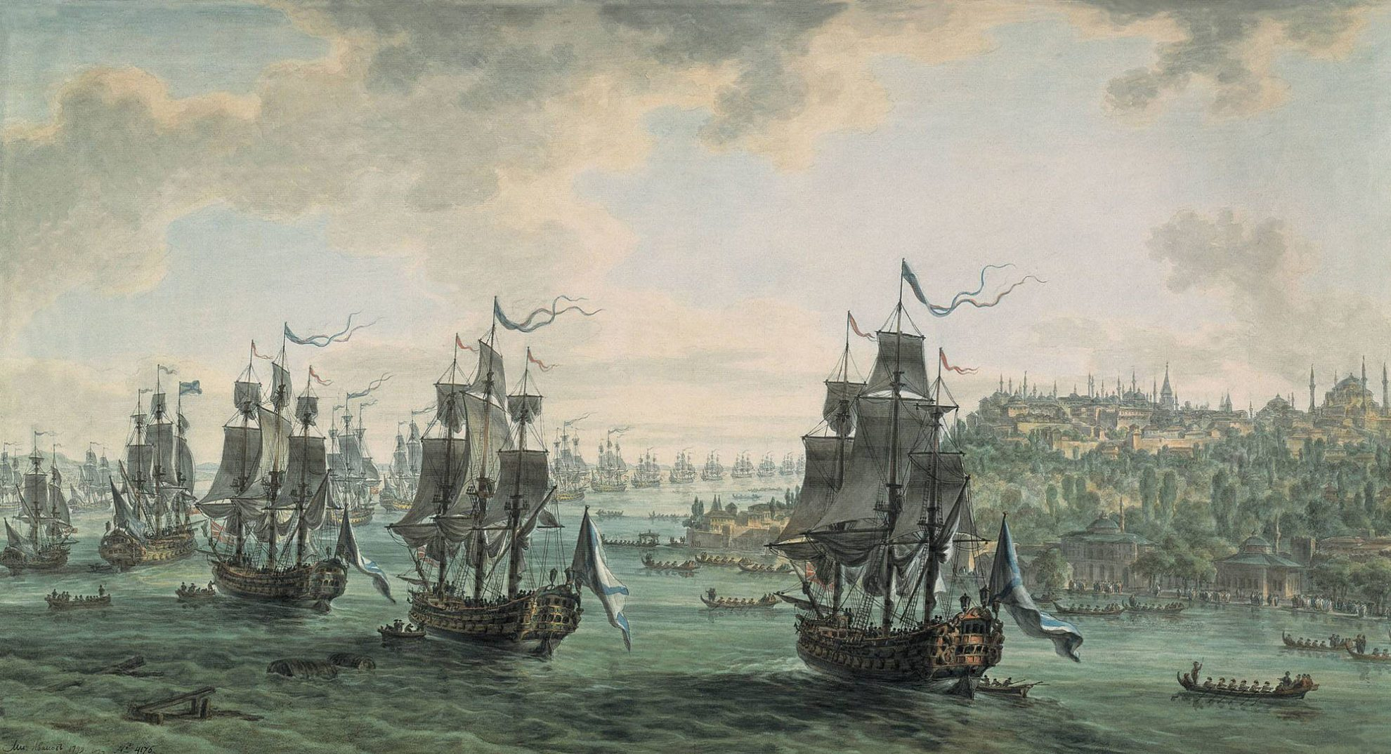 эскадра адмирала Ушакова
