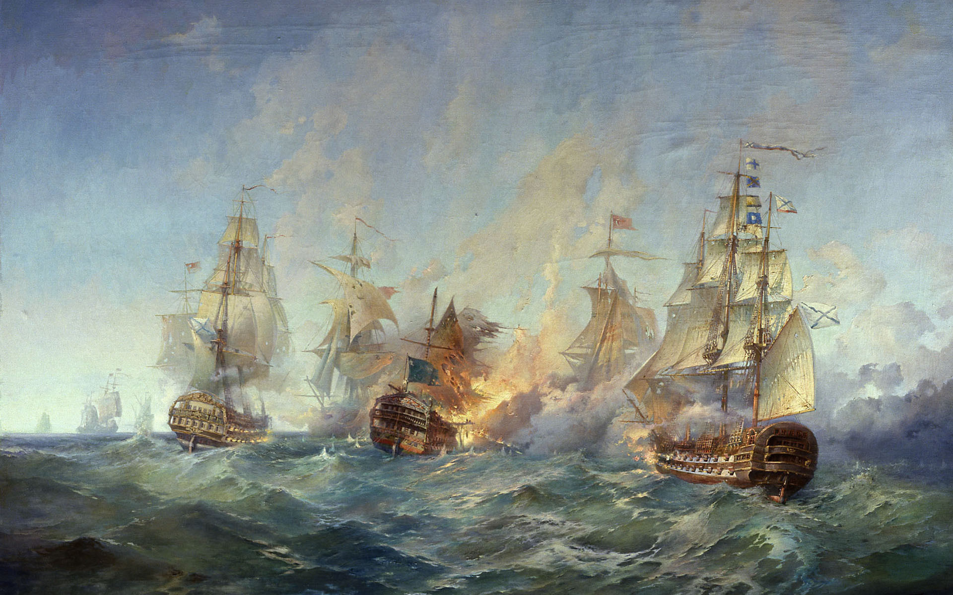 сражение у острова Тендра