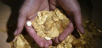 На дне Средиземного моря найден клад золотых монет