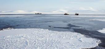 Корабль-призрак приближается к берегам Чукотки
