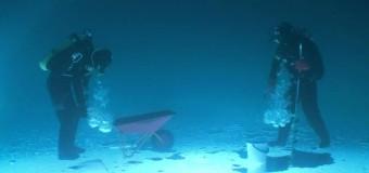 Как добыть воздух под водой