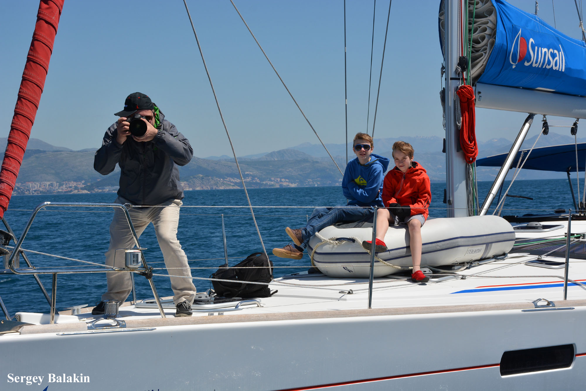 Фотограф регаты Ocean Medi Cup