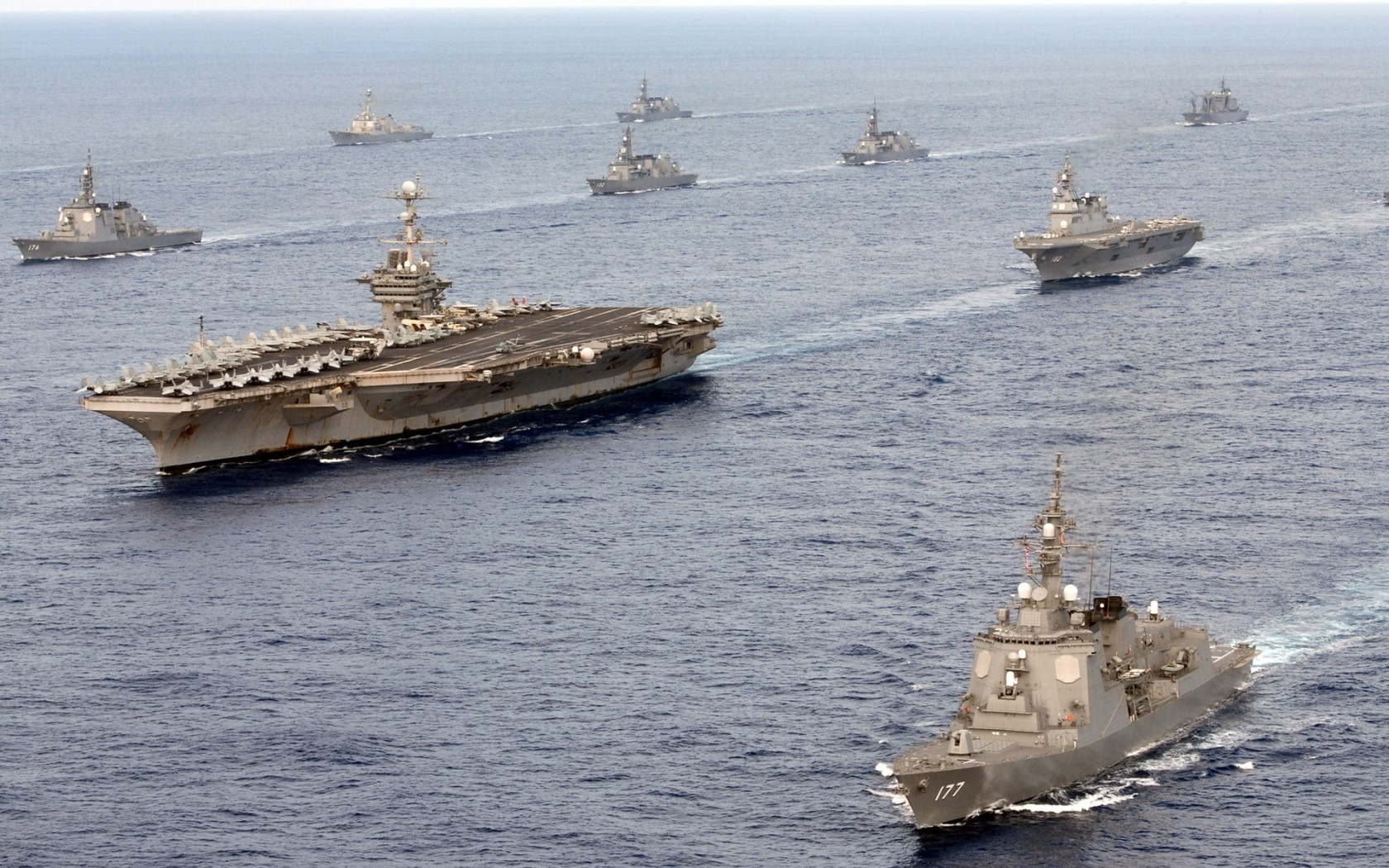 Ученья 2-го флота ВМФ США