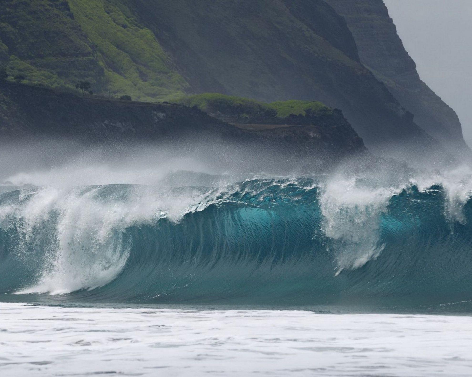 Kalaupapa-Leper-Colony-Beach-breaking-wave-Welle-2048x2560