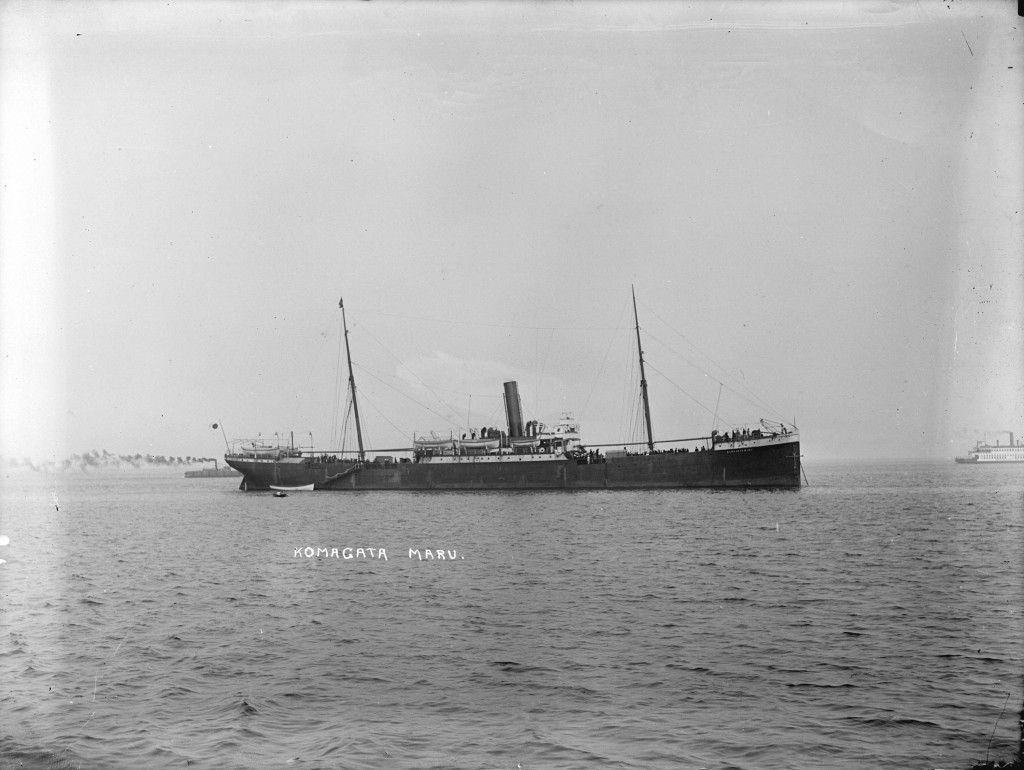 """Komagata Maru"" на рейде Ванкувера, 1914 г."