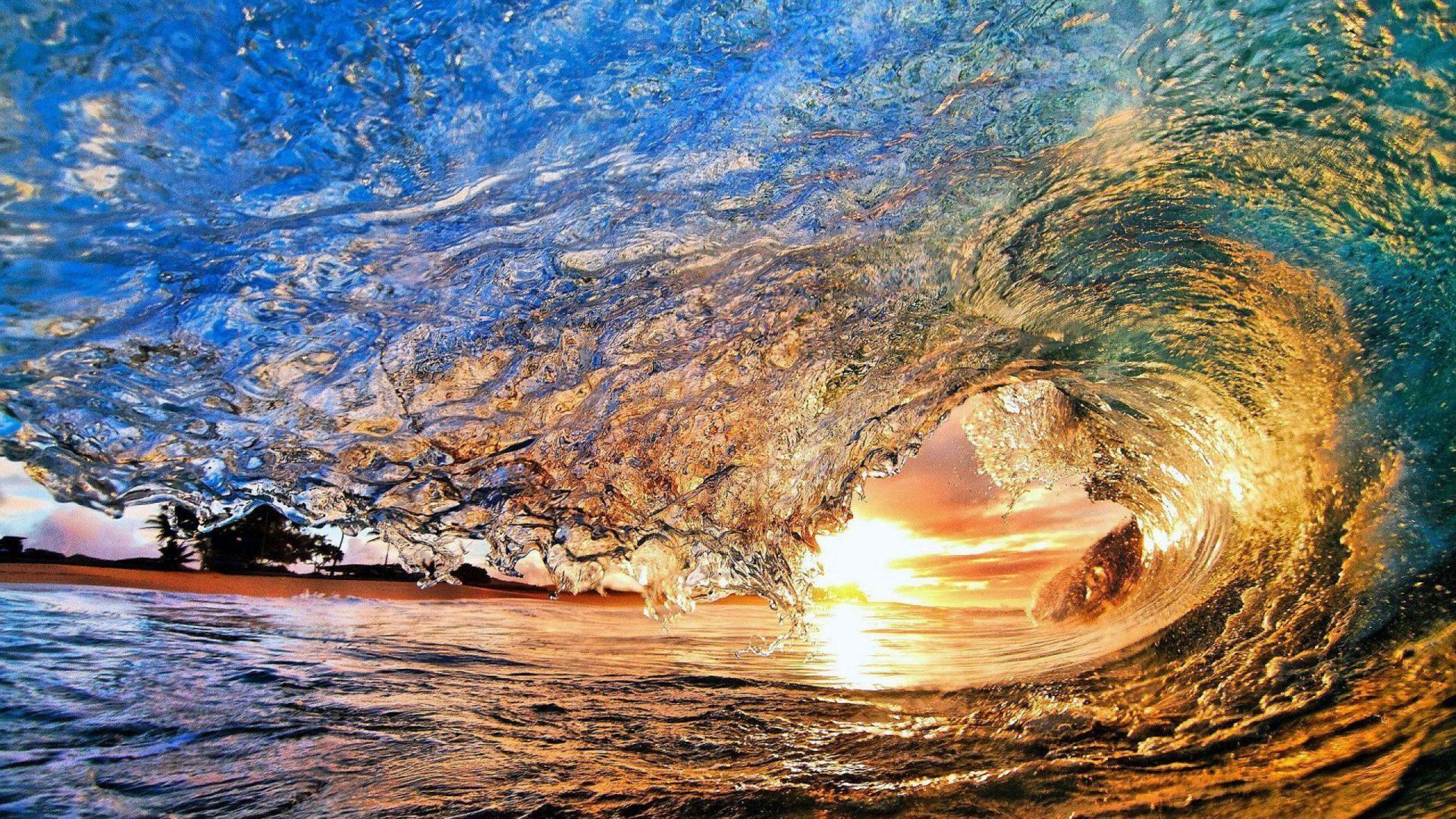Ocean-Wave-Sunset-1440x2560