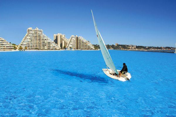 San Alfonso del Mar resort — бассейн