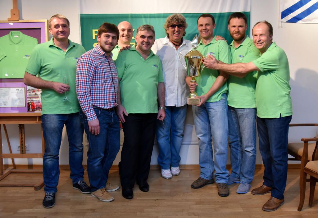 Гости фестиваля: российская команда – победитель парусной гонки Rolex Sydney Hobart – 2014