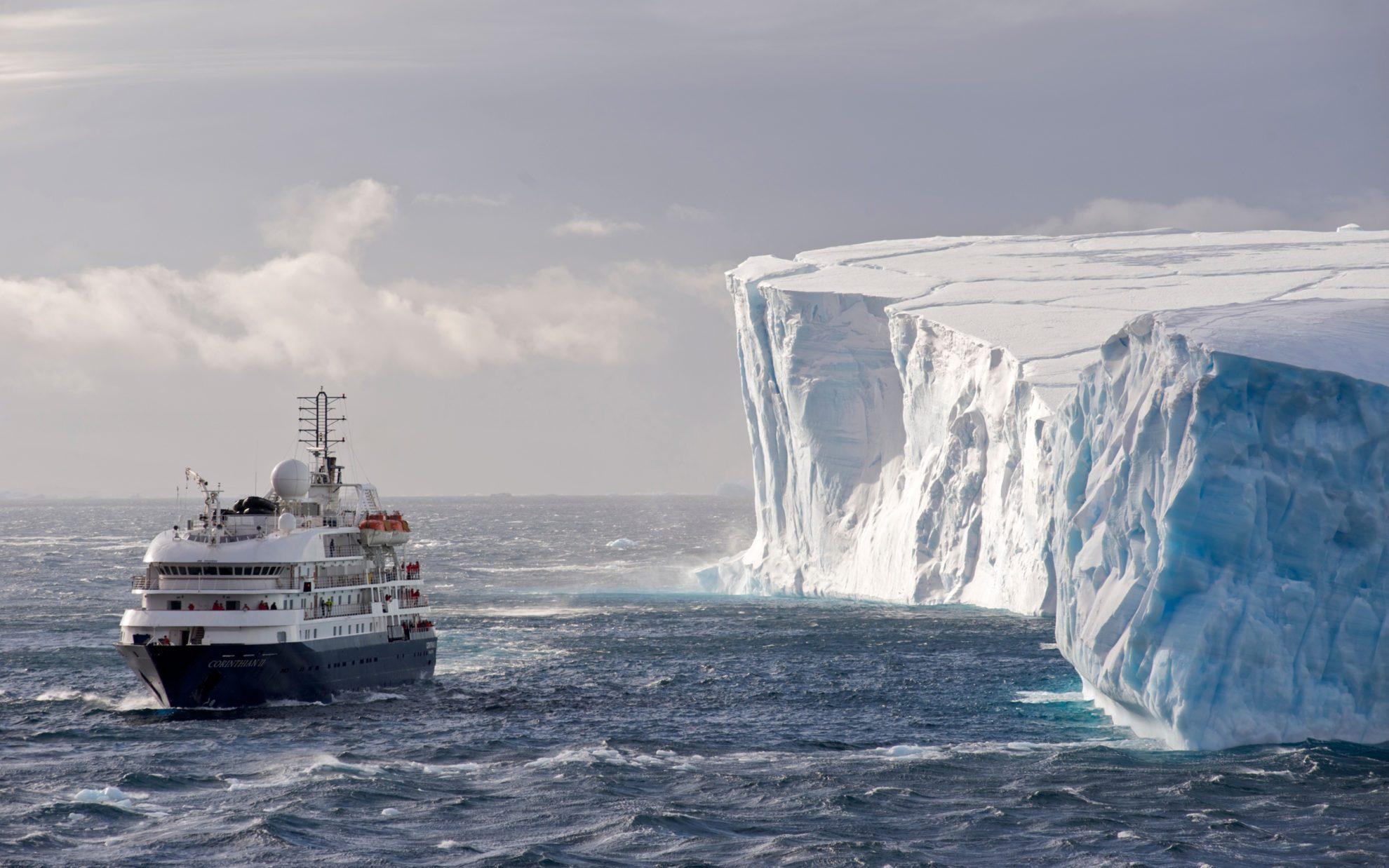 Модное направление 20-21 веков - туры в Антарктиду