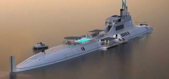 Шутка? Супер люксовая подводная лодка!