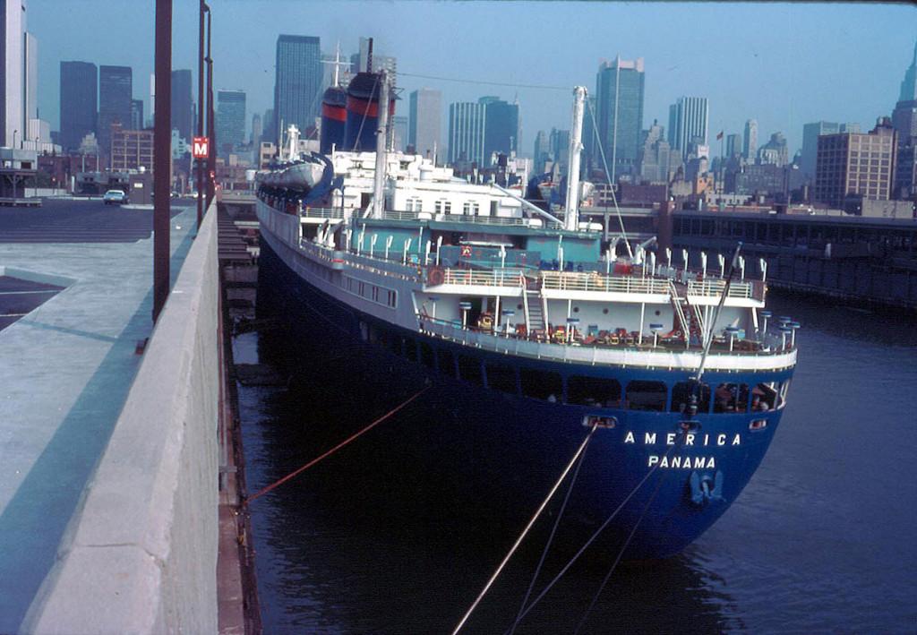 Снова с именем «Америка», но теперь под панамским флагом, 1978 г.