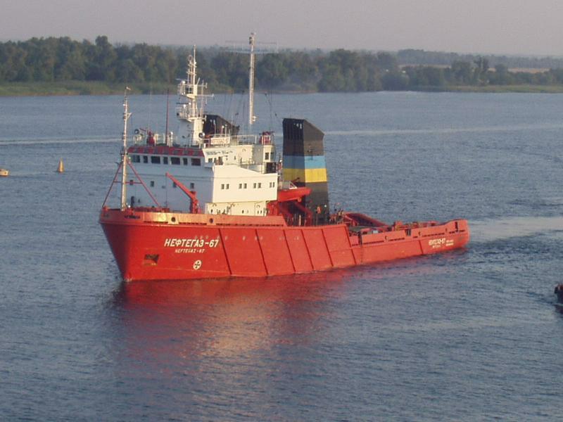 Буксир-снабженец «Нефтегаз-67».