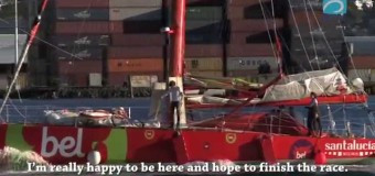 Неделя 10 на Barcelona World Race 2014-15