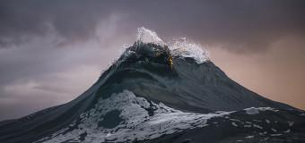 Горы на море: застывшие волны.