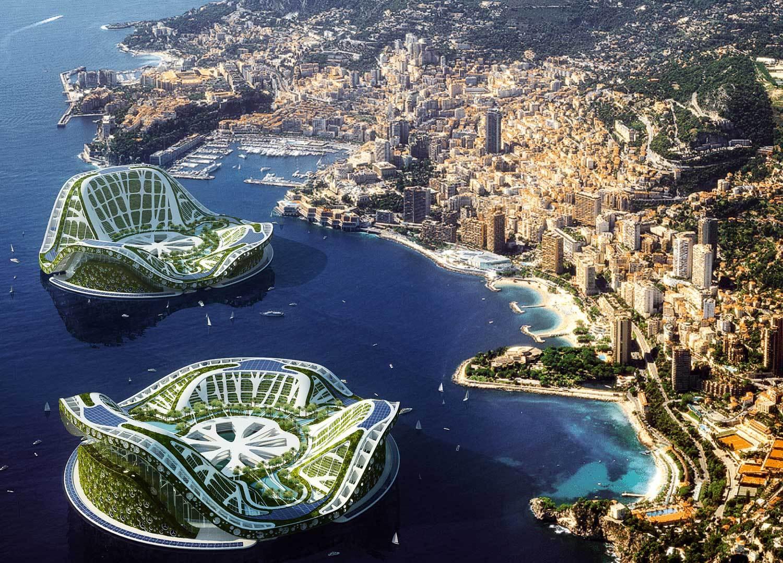 Так выглядит Проект Lilypad в Монако