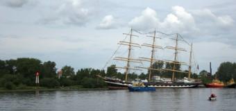 Невезучее плавание барка «Крузенштерн»..