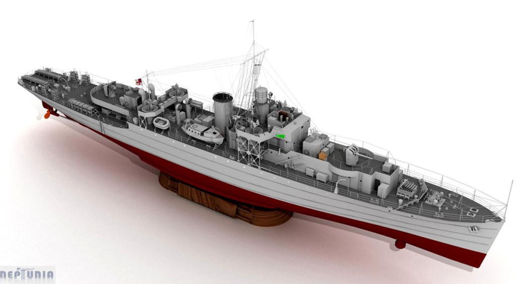 Модель фрегата типа «River»