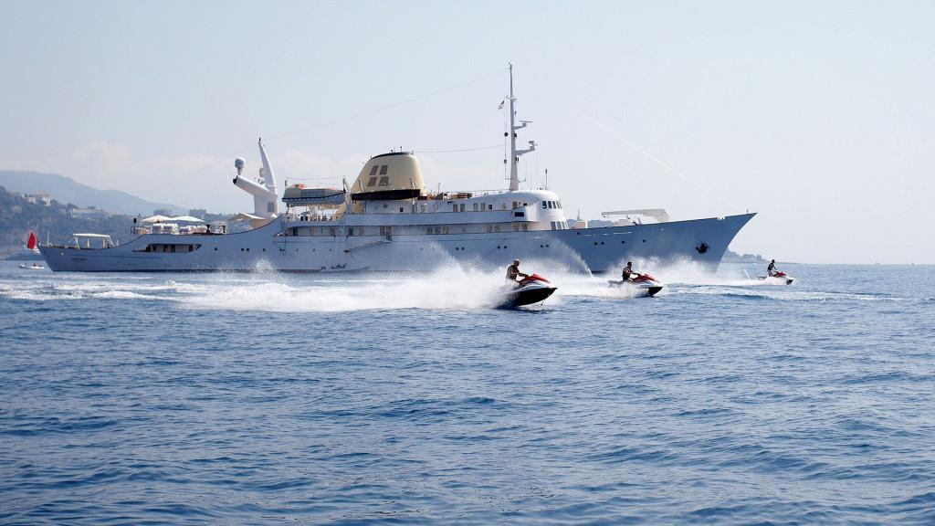 «Christina O» на Средиземном море