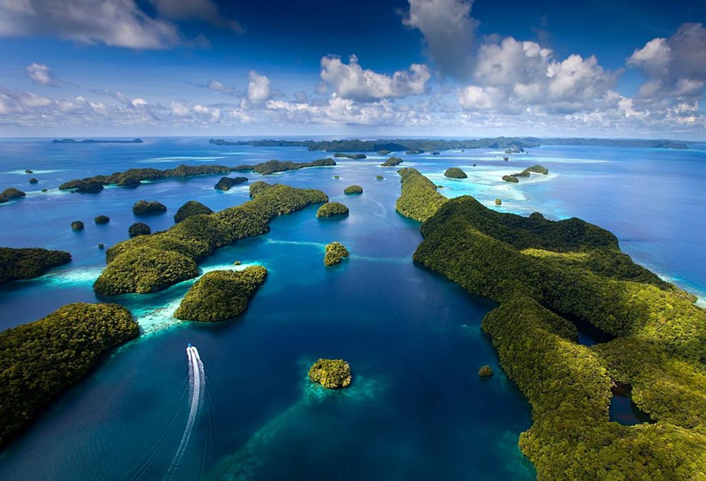 Архипелаг островов в Тихом океане. Палау.