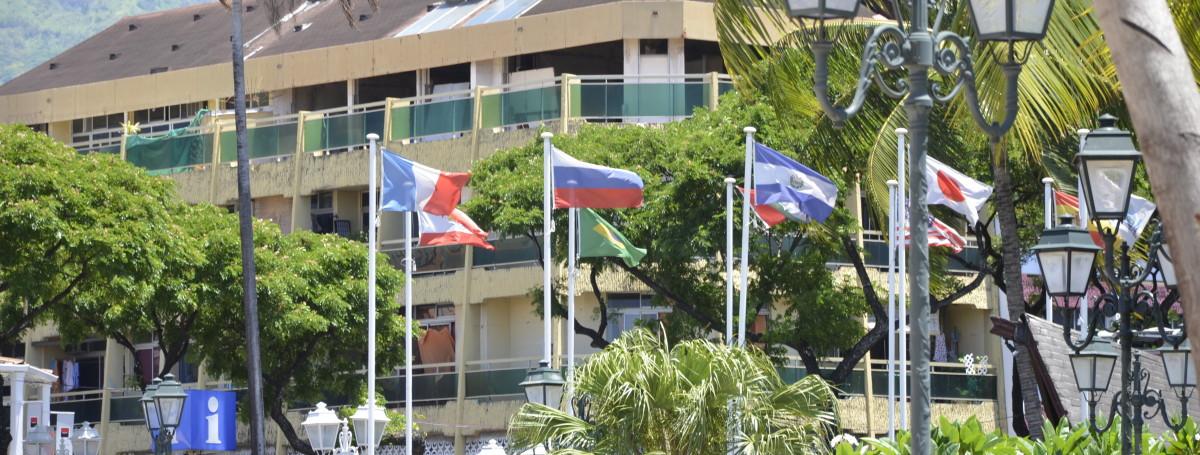 Столица Французской Полинезии горд Папеэти