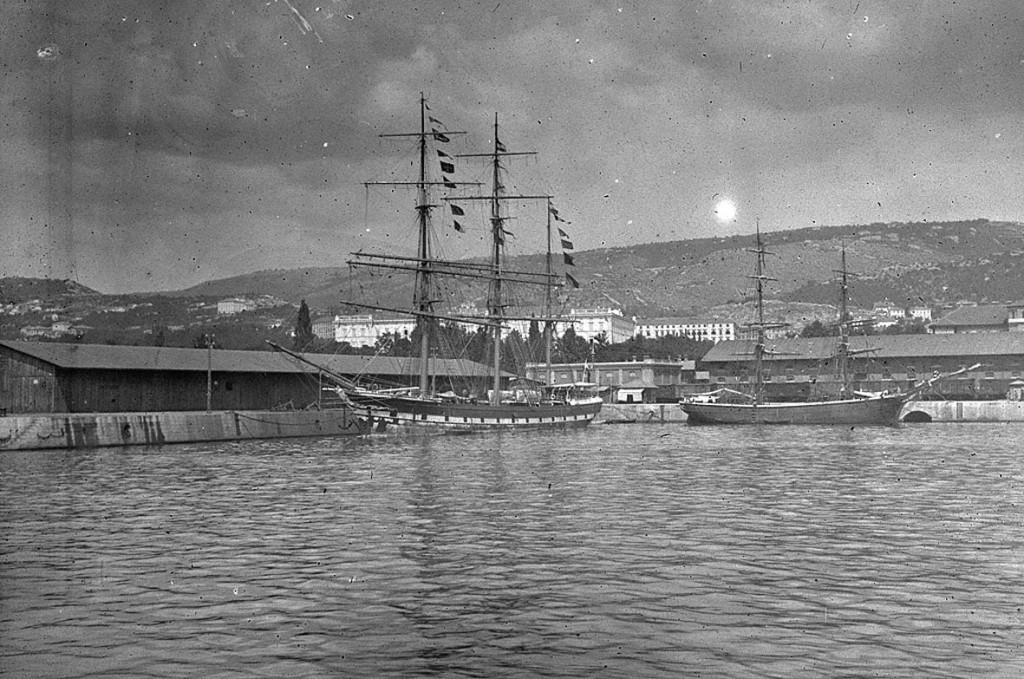 Торговый порт Фиуме (ныне Риека) в начале ХХ в.