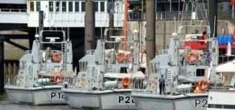 Учебное плавание Британского флота в Балтике.