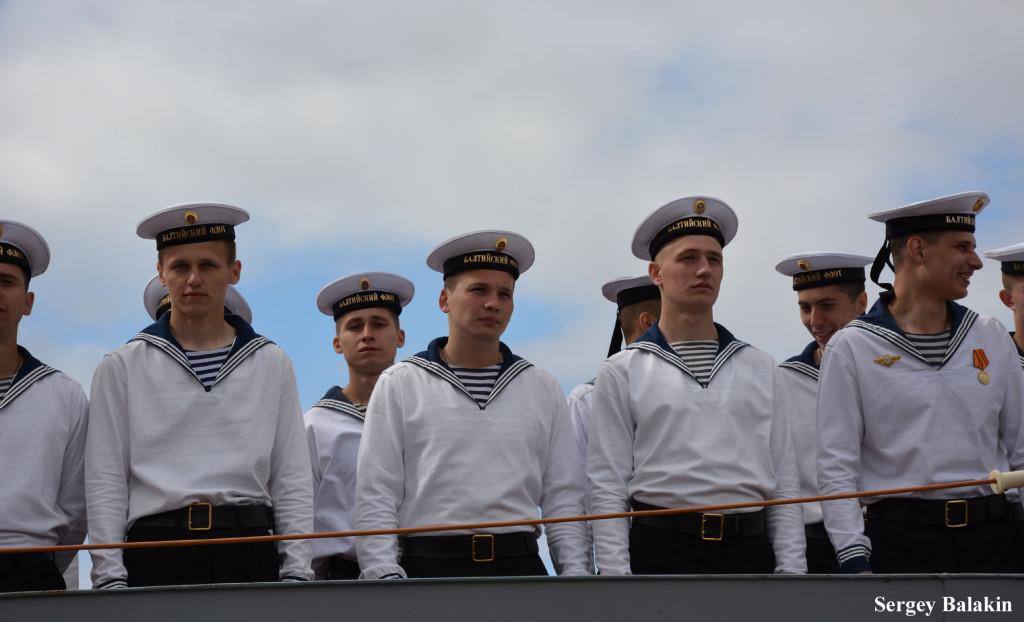 Экипаж корвета «Стойкий»