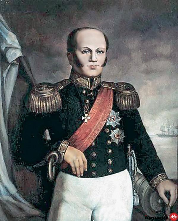 Адмирал Дмитрий Николаевич Сенявин (1763–1831)