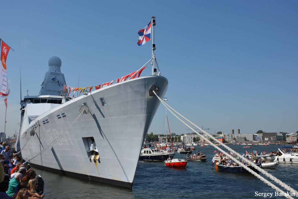 …патрульный корабли «Zeeland»…