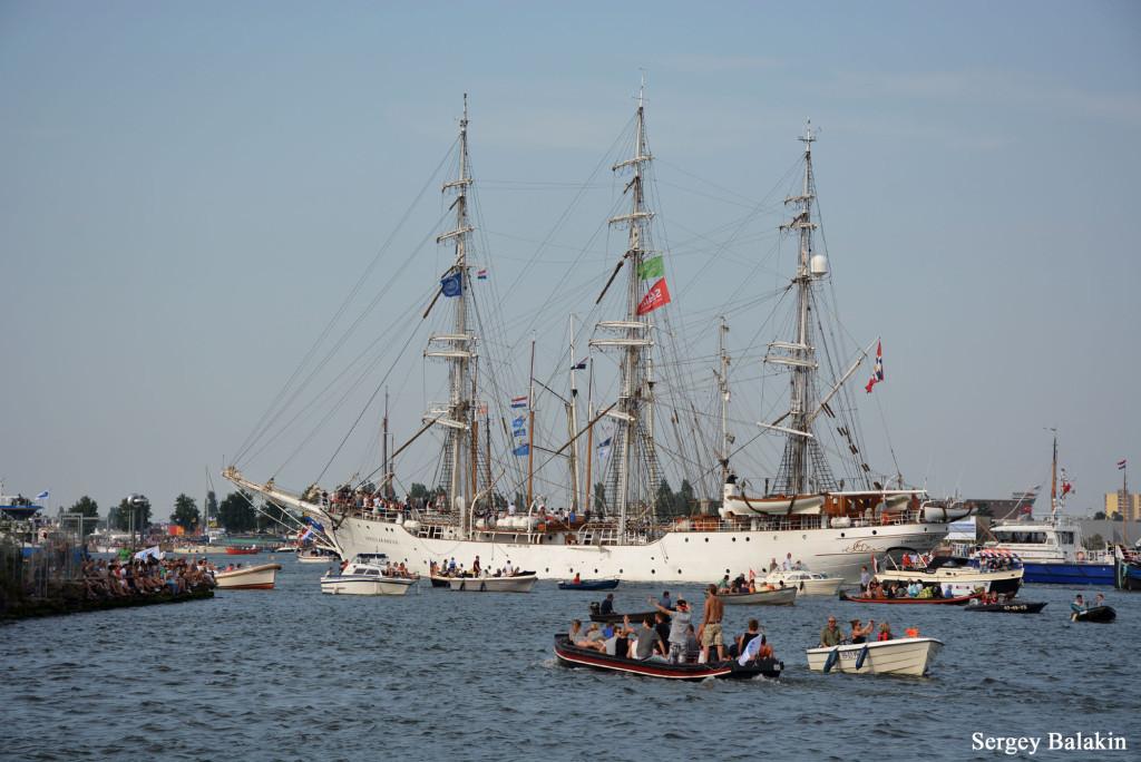 Прощальный парад. Норвежский барк «Christian Radich»