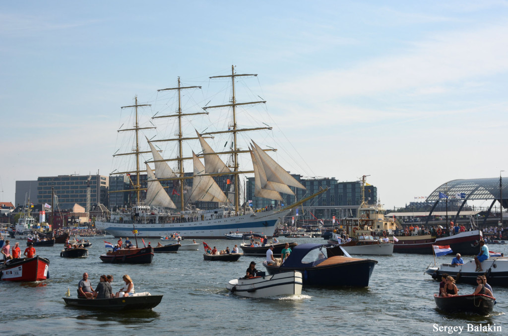 Good bye, Sail Amsterdam 2015!