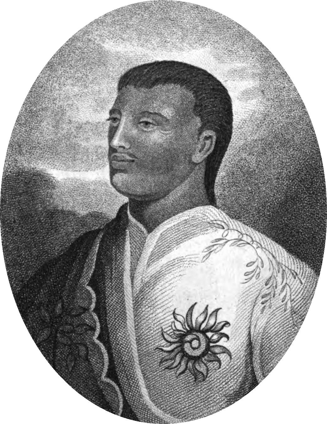 Король Таити Помаре II