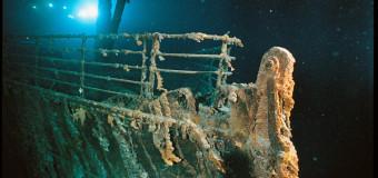 30 лет назад в Атлантическом океане обнаружены остатки «Титаника»