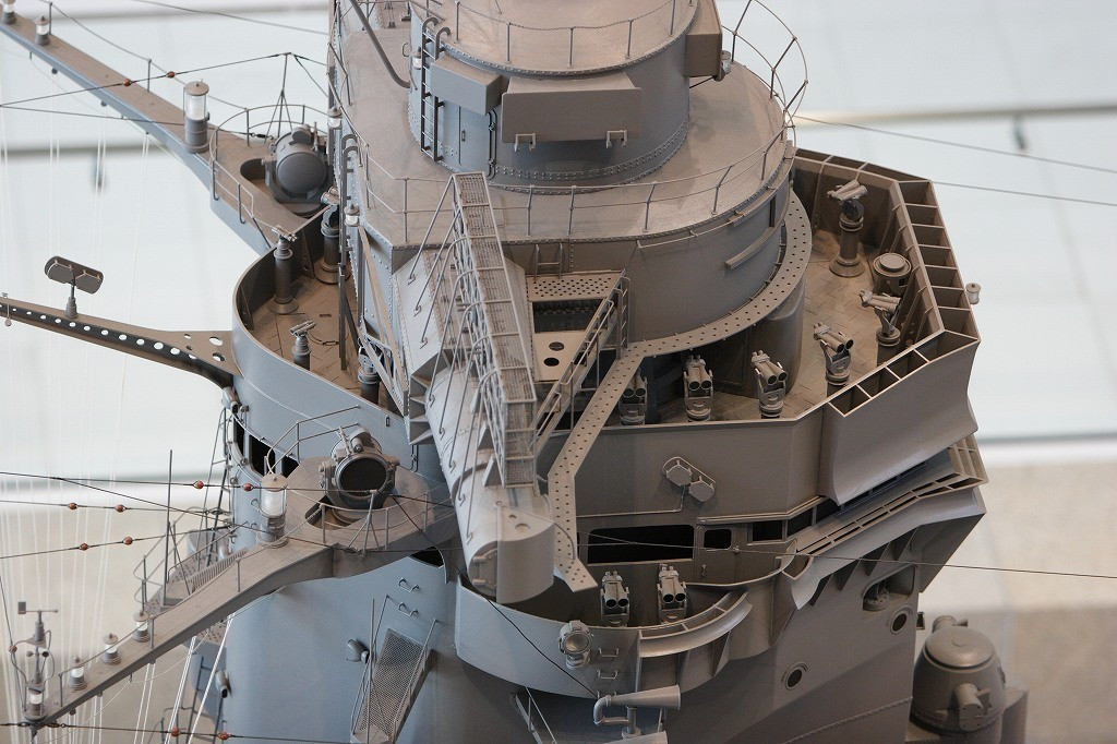 Великолепная деталировка модели линкора «Ямато»