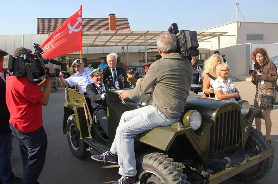 Лендлизовский виллис как машина времени вернул ветеранов в эпоху, когда они доставляли эти машины в СССР