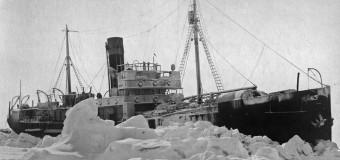78 лет назад Начался героический дрейф в Арктике ледокольно-транспортного судна «Георгий Седов»