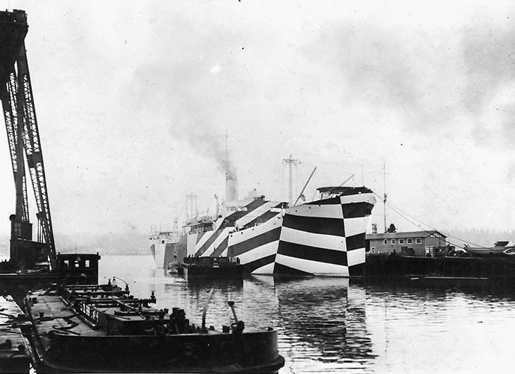 Американский транспорт «West Mahomet», 1918 г.